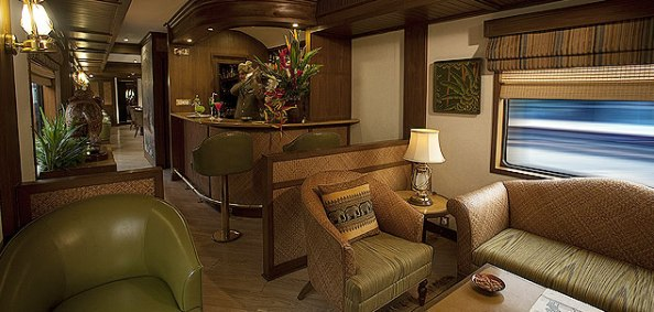 Rajah Club, Bar cum Observation Car, Maharajas' Express