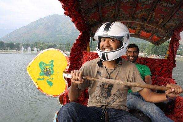 Stay Safe - Boating in Dal Lake, Kashmir