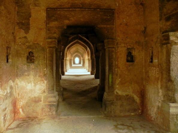 Khirki Masjid Arches Delhi