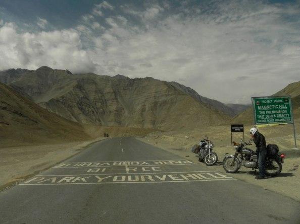 Attractive -Magnetic Field, From Leh towards Kargil