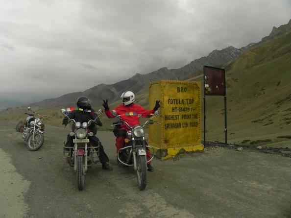 Fotu La on Leh-Srinagar Highway