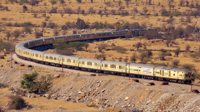 Palace on Wheels - Luxury Train, India