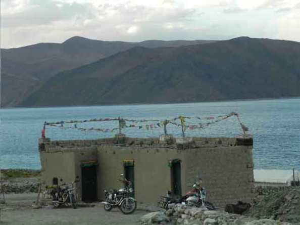 Our-Homestay-at-Pangong